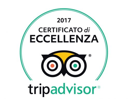 The excellence of Hotel Galles certified by TripAdvisor