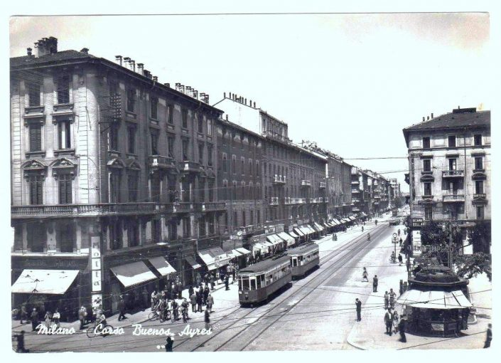 Piazza Lima nel 1947 - Hotel Galles 4 stelle Milano