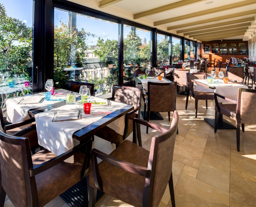 Hotel Galles Milan - Lunch & Dinner at Restaurant La Terrazza