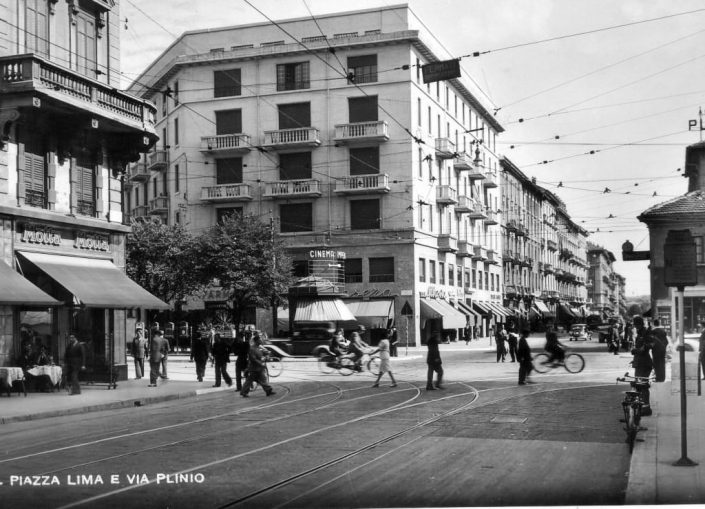 Piazza Lima 1940 - Hotel Galles Milano 4 stelle