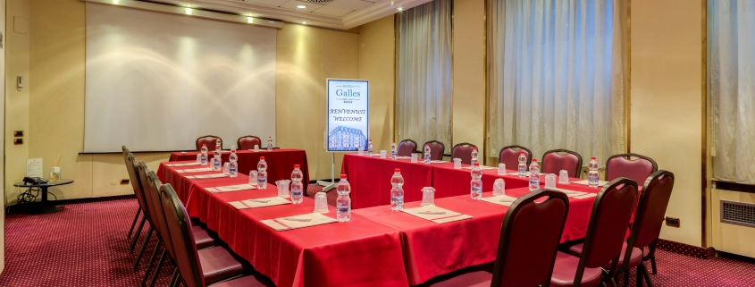 Sala Meeting Hotel Galles Milano