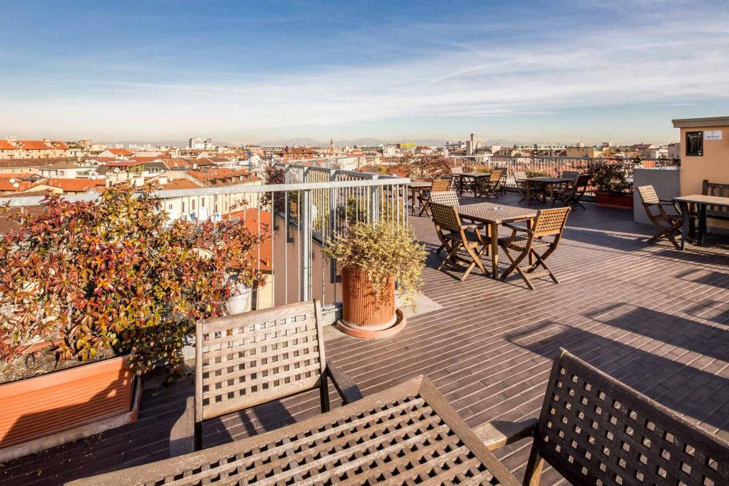 Panoramaterrassen hotel galles mailand best western plus for Hotel galles milano